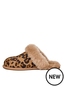 ugg-scuffette-ii-slippers-animal-print
