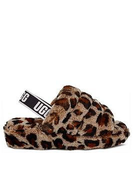 ugg-fluff-yeah-slide-leopard-slippers-animal-print