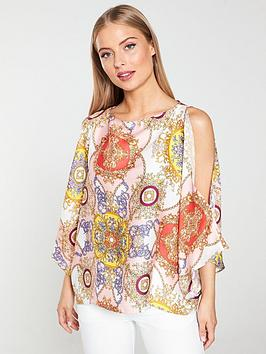 river-island-pink-print-cape-blouse