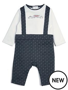 mamas-papas-baby-boys-mock-dungareenbspromper-navy