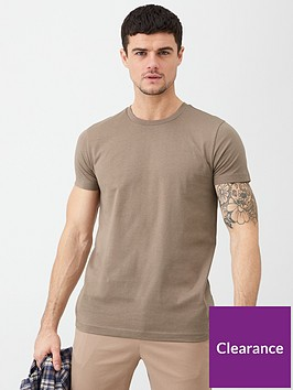 v-by-very-essential-crew-neck-t-shirt-pine-bark