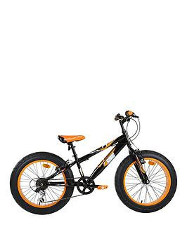 sonic-fatbike-20-6-speed-bike--nbspblackmango