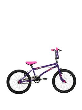 "Barracuda   Bmx Fs 20"" Bike - Purple/Pink"