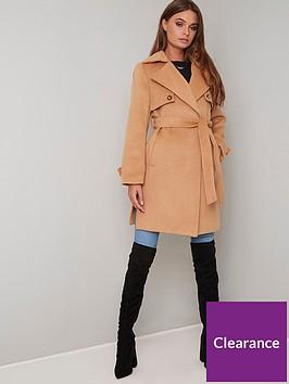 chi-chi-london-cleo-coat-camel
