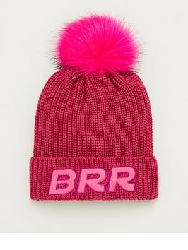 V by Very V By Very Brr Single Bobble Hat - Pink Picture