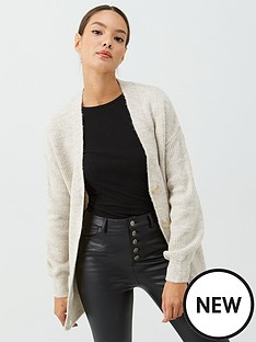 v-by-very-button-front-longline-cardy-oatmeal