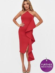 lavish-alice-strappy-ruffle-scuba-midi-dress-crimson