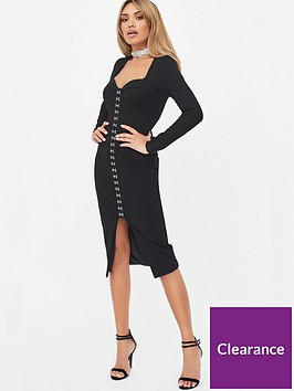 lavish-alice-x-rosie-connolly-square-neck-corset-midi-dress-black