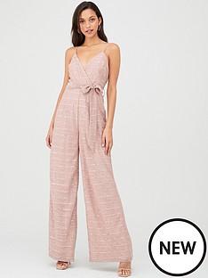 u-collection-forever-unique-tie-waist-cami-jumpsuit-pink