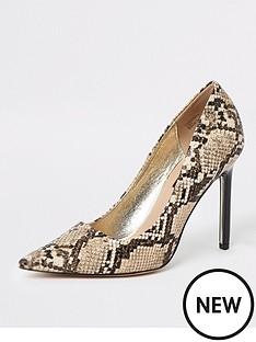 river-island-river-island-animal-print-skinny-heel-court-shoe-beige