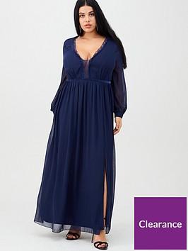 little-mistress-curve-scalloped-lace-trim-maxi-dress-navy
