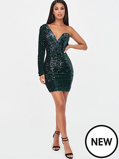 lavish-alice-velvet-sequin-one-shoulder-dress-emeraldnbspgreen