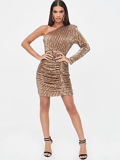 lavish-alice-one-sleeve-sequin-mini-dress-metallic-gold