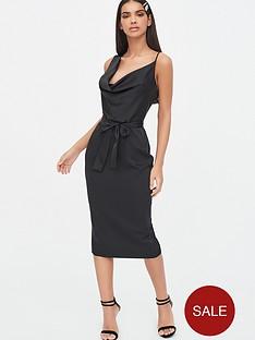 lavish-alice-satin-cowl-neck-midi-dress