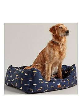 joules-joules-coastal-collection-dog-square-bed--medium