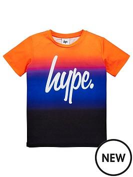 hype-boys-sunbeam-fade-short-sleeve-t-shirt-multi