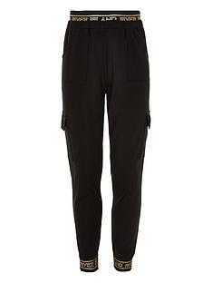 river-island-girls-ri-active-utility-joggers-black
