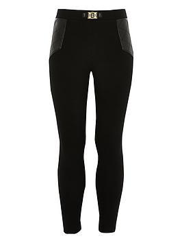 river-island-girls-ri-ponte-leggings-black
