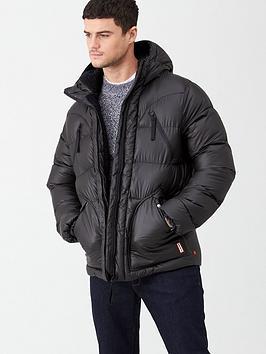 hunter-original-padded-jacket-black
