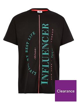 river-island-girls-spliced-influencer-t-shirt-black