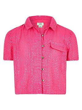 river-island-girls-sequin-embellished-shirt-pink