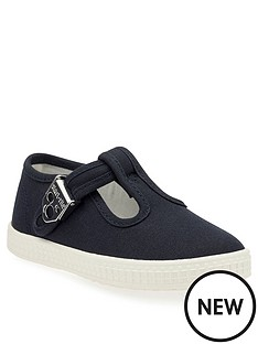 start-rite-wells-canvas-shoes-navy