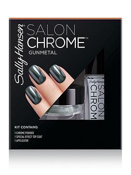 Sally Hansen Sally Hansen Salon Chrome Kit - Gunmetal Picture
