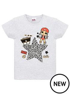 lol-surprise-toddler-girls-leopard-rock-top-grey-marl