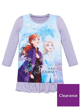 disney-frozen-toddler-girls-frozen-2-long-sleeved-nightie-multi