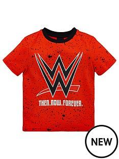 wwe-boys-all-over-print-paint-splatter-tee-red