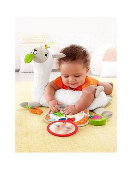 Fisher-Price Fisher-Price Grow-With-Me Tummy Time Llama Picture