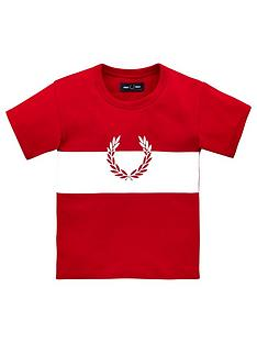 fred-perry-boys-wreath-colour-block-short-sleeve-t-shirt-red