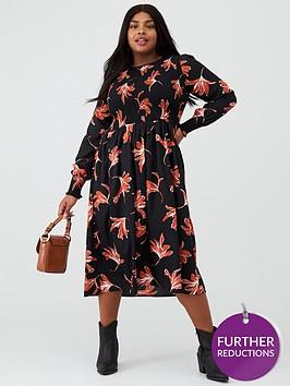 junarose-curve-salyz-printed-midi-dress-blackfloral
