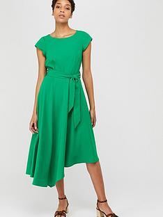 monsoon-francoise-asymmetric-fit-amp-flare-dress-green