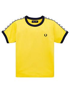 fred-perry-boys-short-sleeve-ringer-t-shirt-yellow