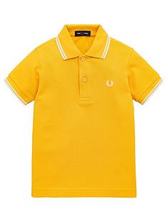 fred-perry-boys-twin-tipped-short-sleeve-polo-shirt-yellow