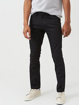 V by Very V By Very Coated Utility Jeans - Black Picture