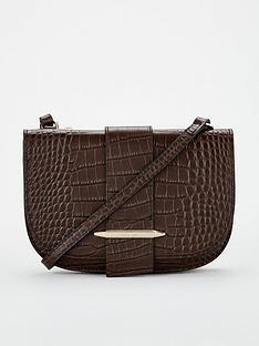 karen-millen-manhattan-mini-crossbody-bag-chocolate