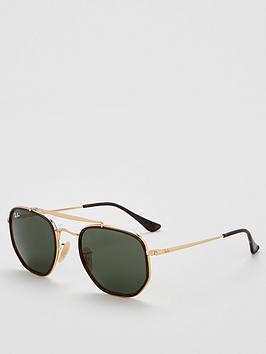 ray-ban-rayban-0rb3648m-hexagonal-frame-sunglasses