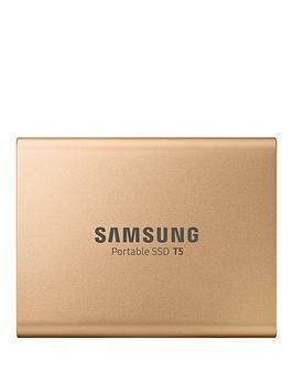 Samsung Samsung Ssd Ext 500Gb T5 Rose Gold Usb3.1 Gen2 Usb-C Picture