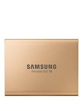 Samsung Samsung Ssd Ext 1Tb T5 Rose Gold Usb3.1 Gen2 Usb-C Picture