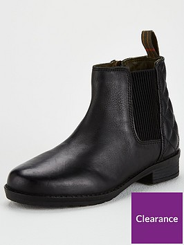 barbour-girls-abigail-leather-chelsea-boots-black