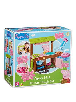 Peppa Pig Peppa Pig Peppa'S Mud Kitchen Dough Set Picture
