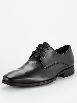 Office Office Macro Lace Up Derby Shoes - Black Picture
