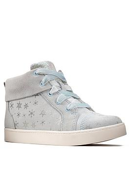 Clarks Clarks Toddler Frozen City Frost High Top - Blue Picture