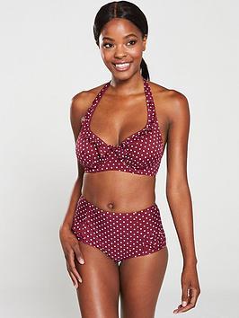 Pour Moi Pour Moi Hotspots Control Bikini Brief - Sangria Picture