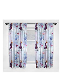 Disney Frozen Disney Frozen Elements Pleated Curtains Picture