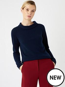 hobbs-audrey-sweater-navy