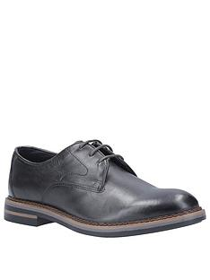 base-london-wayne-lace-up-derby-shoes-black