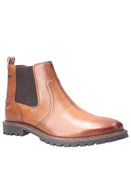 Base London Base London Wilkes Washed Leather Boot Picture